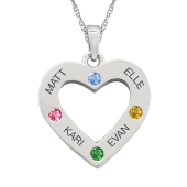 HEART PERSONALIZED NECKLACE