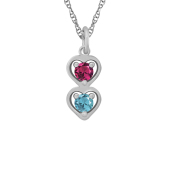 FALLING HEARTS NECKLACE