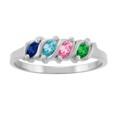 MARQUISE S BIRTHSTONE RING
