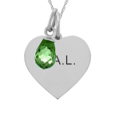 HEART TAG BRIOLETTE NECKLACE