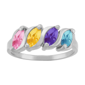 MARQUISE S BIRTHSTONE RING (LARGE)