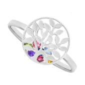 Family Tree Cage Ring