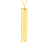 Medium Initial Cut Out Bar (Chain not included)