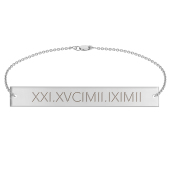 Engravable Bar Bracelet
