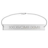 Engravable Bar Bracelet