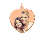Heart Photo Necklace (Medium)