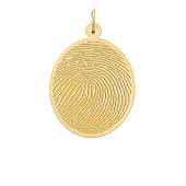 Oval Photo Necklace (Medium)