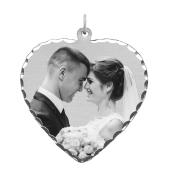 Heart Photo Necklace (Large)