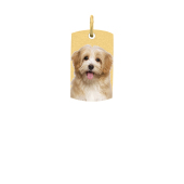 Small Tag Photo Pendant (Chain not included)