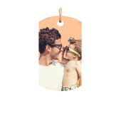 Large Tag Photo Pendant (Chain not included)